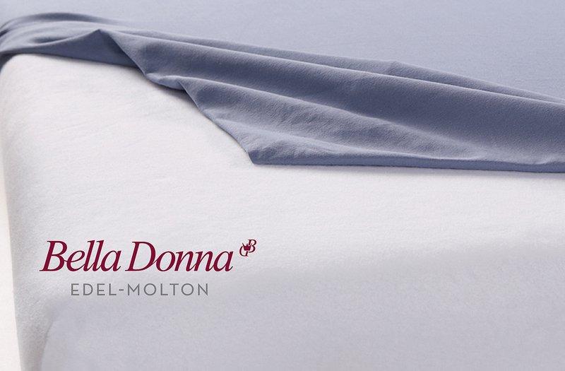 Topper-Schonbezug aus Baumwolle, Bella Donna Edel-Molton La Piccola, Formesse